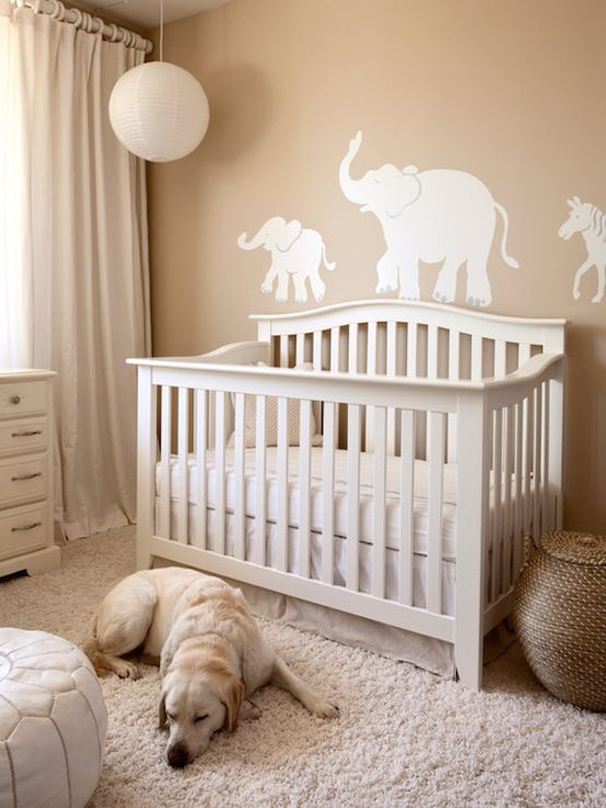 gender neutral nursery home design