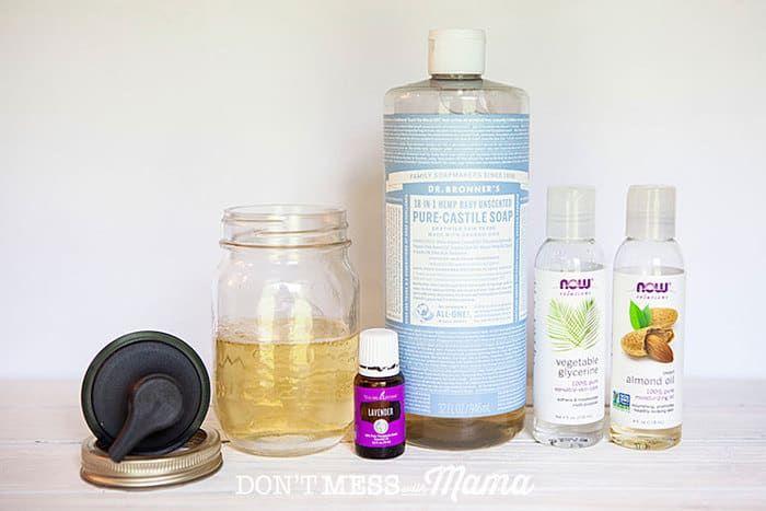 Natural Homemade Baby Wash And Shampoo Recipe Diy Shampoo