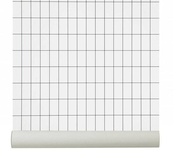 Grid interior trend + design: focus on grid pattern trend for 2016 interiors and design on ITALIANBARK - interior design blog #fermliving #wallpaper