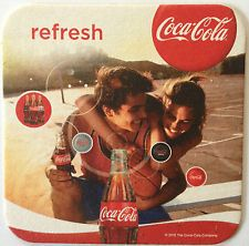1 Coca Cola Papuntersetzer (Bierdeckel) -NEU-
