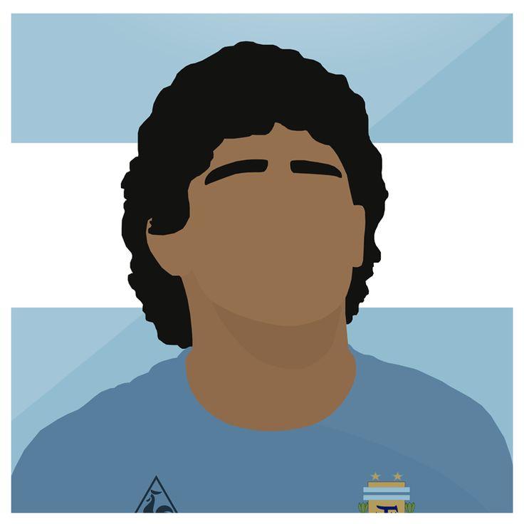 Maradona   #Legend #Diego #Maradona #Argentina #Barcelona #HandOfGod #Football #Futbol #Sport #Design #Photoshop #Illustrator #Design #Art #WorldCup