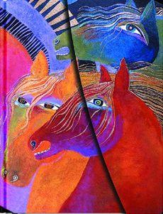 Laurel Burch Horse Earrings | Laurel Burch Journals