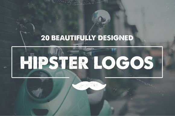 Check out 20 Hipster Logo Templates by Maroon Baboon on Creative ...