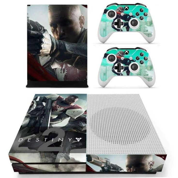 Destiny 2 Xbox one S Skin for Xbox one S Console and