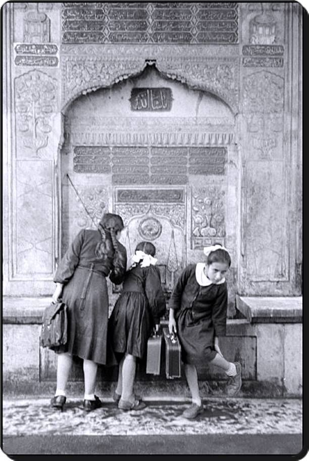 #slowtravel #turkey #backintotime 1957 schoolgirls