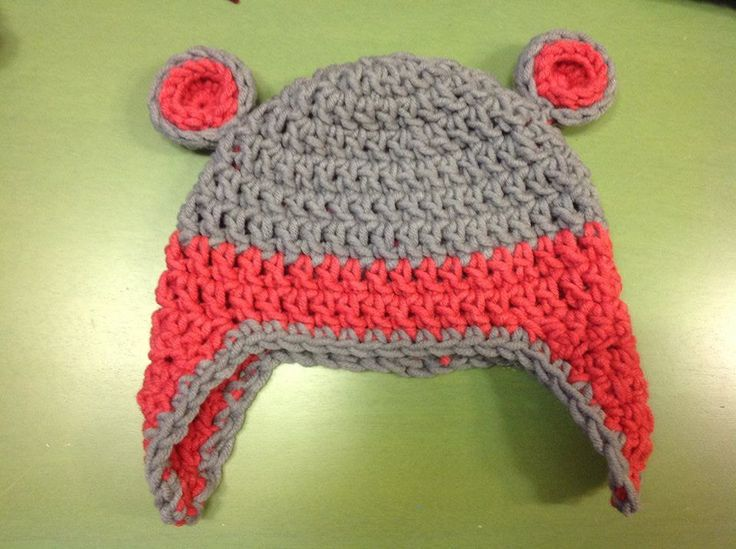 teddy bear hat crochet for baby
