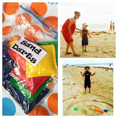 Sand Darts - game for all ages at the beach! | from @cltmomfaves