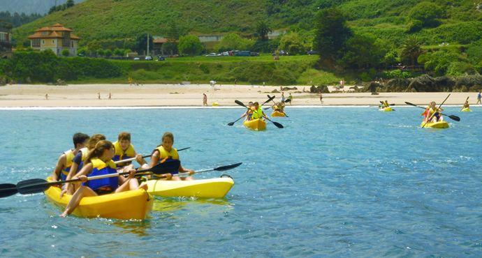 Playa de Barro,alquiler de kayak de mar, para 1 persona k1 , para dos personas k2, para dos adultos y un niño k3. planetapalombina.com 684612765
