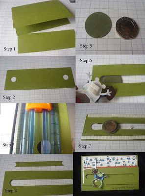 cornwall crafty stamper tutorials: Spinner card instructions