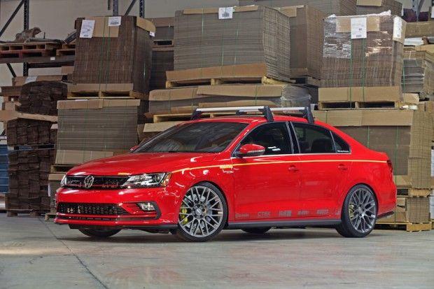 SEMA 2015: VW Jetta GLI MOMO Edition