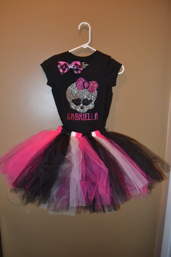 Awesome!  Monster high birthday outfit monster high by TuTuCouturebyAdriana, $55.00