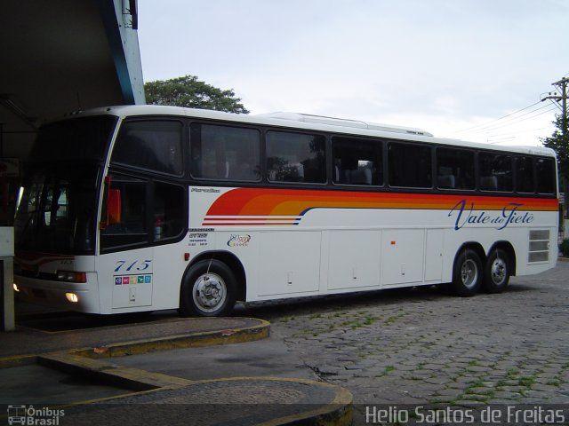 Ônibus da empresa Viação Vale do Tietê, carro 715, carroceria Marcopolo Paradiso GV 1150, chassi Scania K113TL. Foto na cidade de Itu-SP por Helio Santos de Freitas, publicada em 08/06/2017 18:39:28.