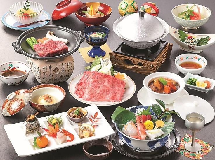 近江牛の会席料理
