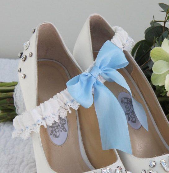 Personalised Garter - Wedding Garter - Nottingham Lace Garter - Silk Garter - Bridal Garter - Embroidered Garter - Bride to be gift - Annie by extraspecialtouch on Etsy https://www.etsy.com/listing/228519589/personalised-garter-wedding-garter