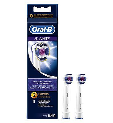 #Oral B #Oral-B #Braun #Vitality #3DWhite #Electric #36 #Advantage card #points. #Oral-B #Braun #Vitality #3DWhite #Electric #Toothbrush #Heads 2 Pack are #recommended for #people with #visible #stains #(coffee, #tobacco, etc) who want to keep a #natural #white #smile. FREE #Delivery on #orders over 45 GBP. #(Barcode EAN=4210201849308)