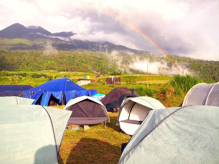 #Rainbow #Mt.Lawu #Kemuning #Camp #CentralJava