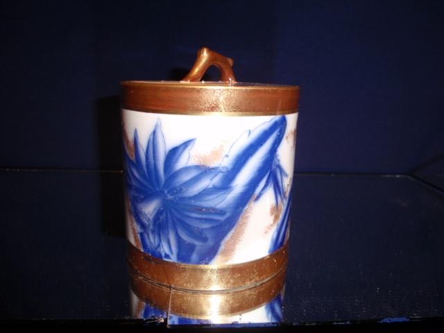 Rare Adderley cracker jar c.1890