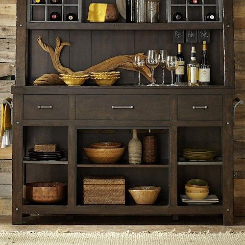 Liberty Furniture Moreno Valley Rustic Buffet Without Fireplace