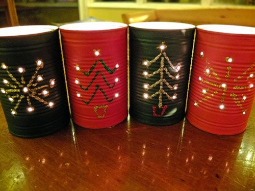 Light up your house for a holiday bash with these amazing D-I-Y Christmas lanterns