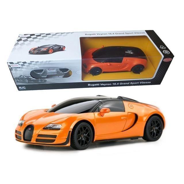 1:24 Mini Electric RC Cars 4CH Remote Control Toys Bugatti Grand Sport Vitesse