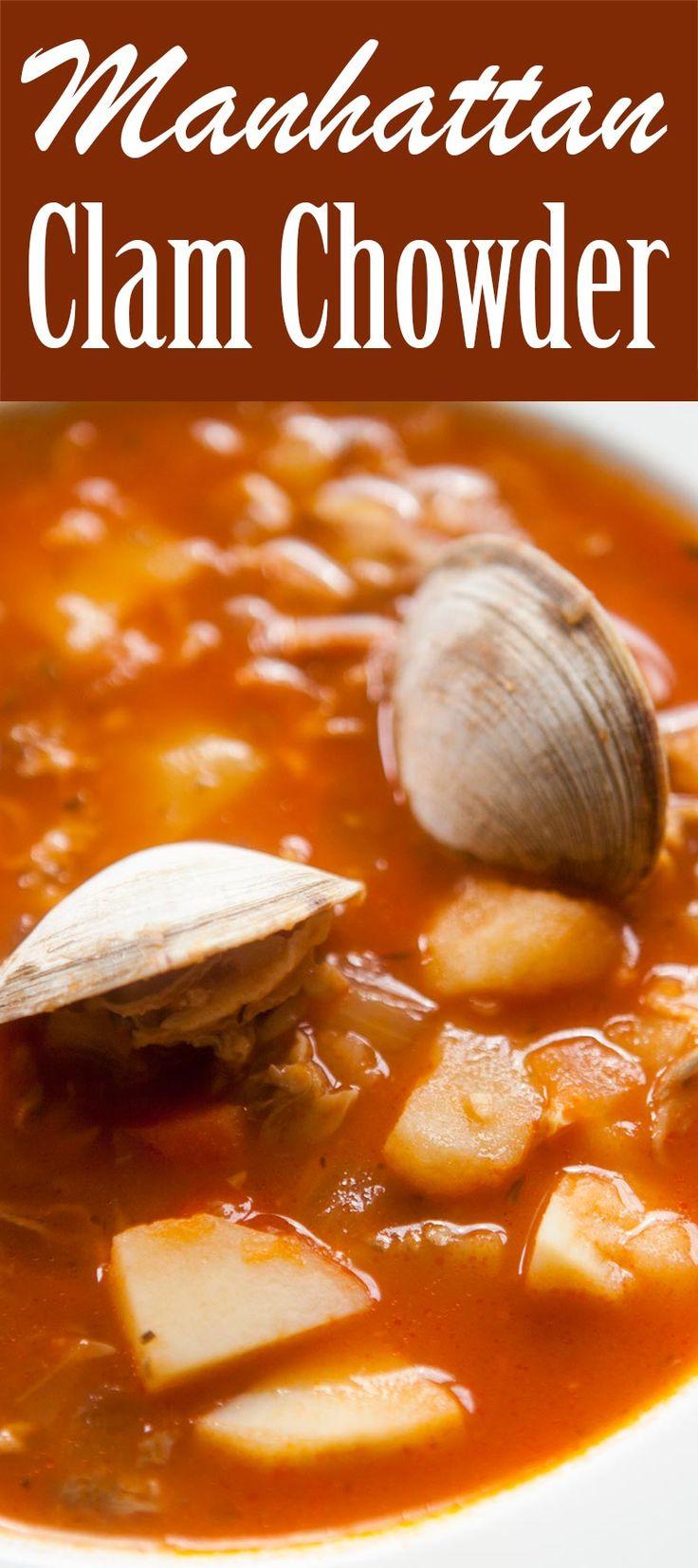 The 25+ best Manhattan clam chowder ideas on Pinterest ...