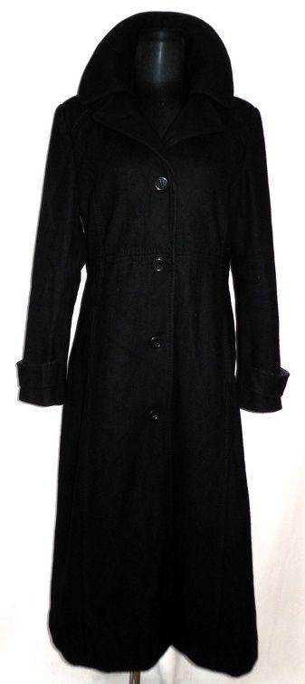 Dámský vlněný černý kabát LAREDOUTE vel.42 (6613347030) - Aukro - největší obchodní portál