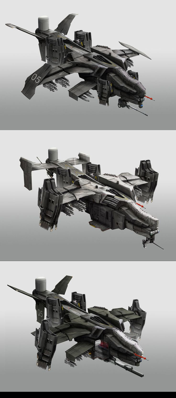 Gunships by StTheo.deviantart.com on @DeviantArt