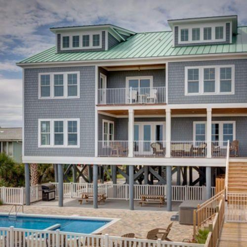 AMAZZIIIIINGGG!!!!!!!!!! beach.calm - Garden City Beach Ocean Front (South) Beach Home vacation rental from Dunes Realty