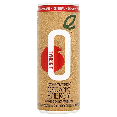 Scheckters Organic Energy Drink 250 ml (Pack of 12) ** You can find more details by visiting the image link.