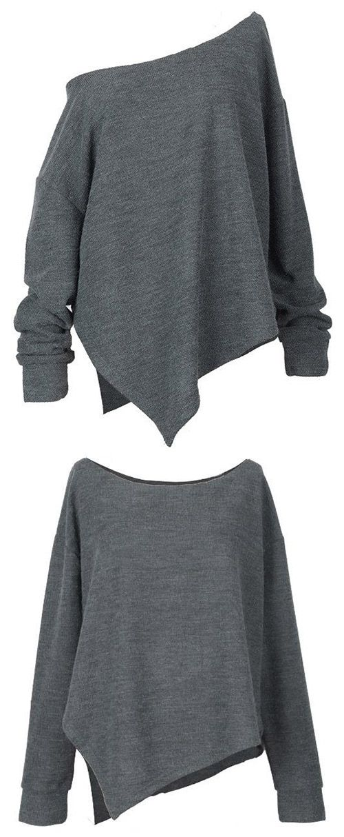 Take this off-shouler top with Free Shipping! Do something unique just like its irrgular hem and shouler design. Show off your confidence and style in this season! Can Not wait to get it at Cupshe.com !