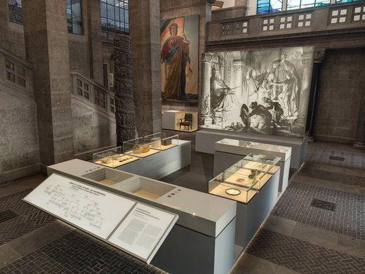 PLEXIGLAS® in Museums Germanic National Museum in Nuremberg