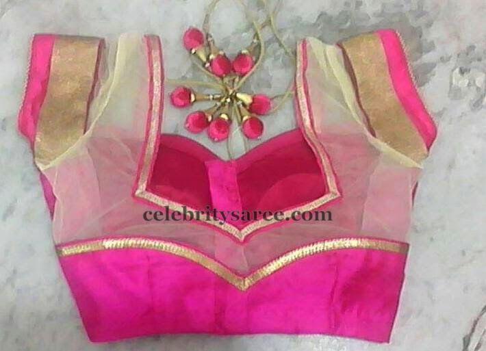 Saree Blouse Designs by Saanvi Exclusives