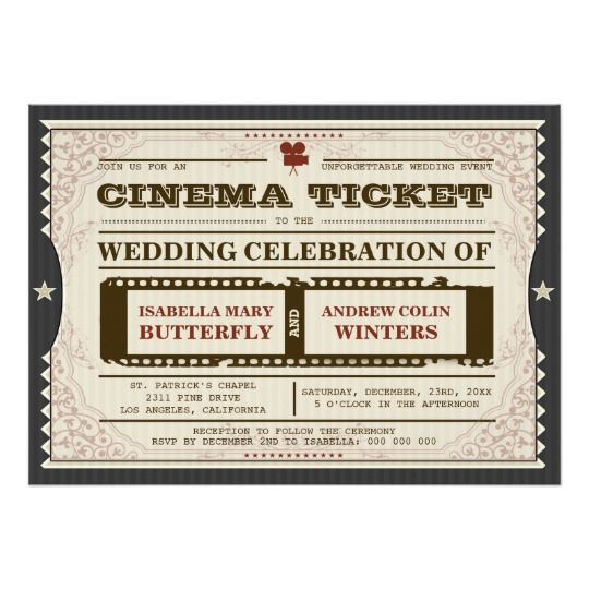 Best 25+ Cinema ticket ideas on Pinterest Ticket, Movie tickets - printable movie ticket template
