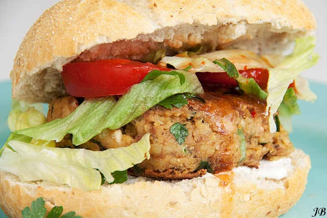 Kikkererwten hamburger en veel meer lekker gerechten!