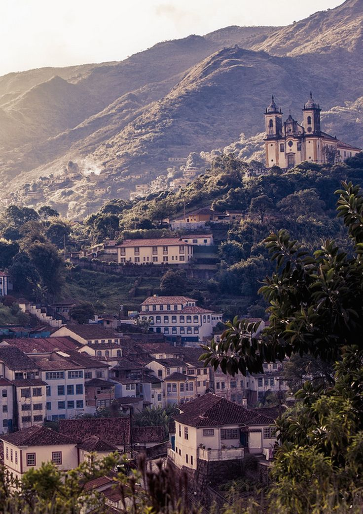 "westeastsouthnorth:  ""Ouro Preto, Brazil [1/32 World Cup Countries]  """
