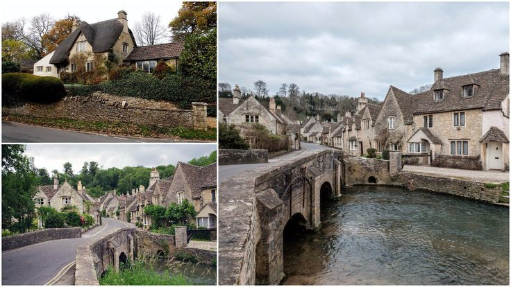 Oh boy, do we love medieval villages which look like they've been taken out of a fairy tale! About 5 miles (8 km) northwest of the town of Chippenham in Wi
