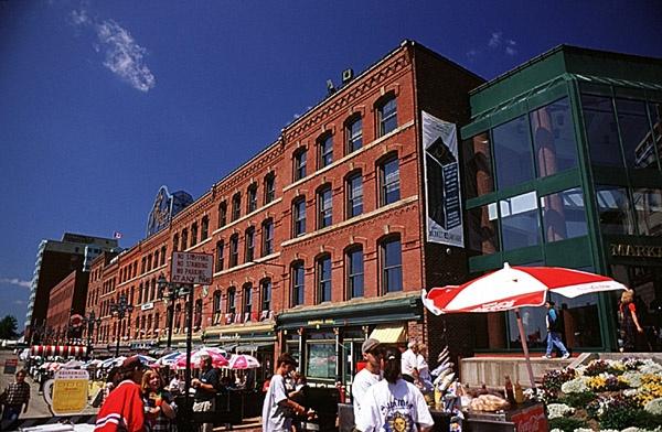 Saint John, New Brunswick - Market Square