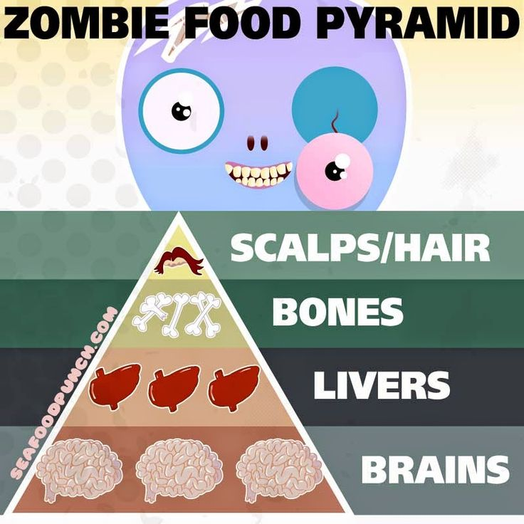 Zombob's Zombie News and Reviews: Zombie Food Pyramid