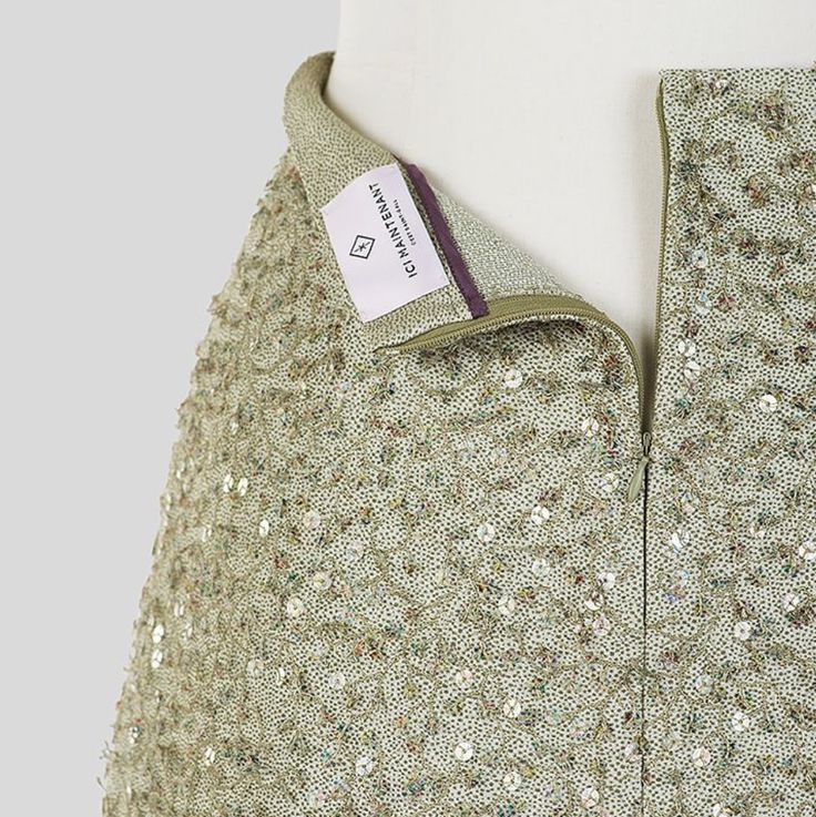 Emma - Sequin embroidery - made in Switzerland