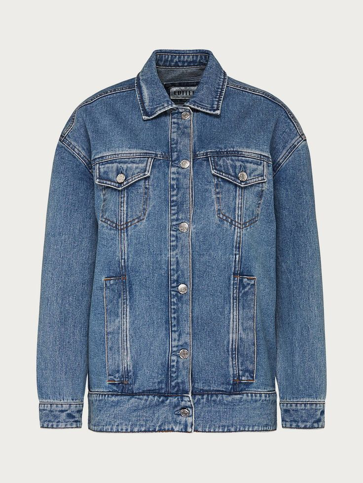 """Edited the Label """"Isabell"""" Jean Jacket"""