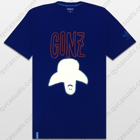 3202c71f6 adidas Skateboarding Gonz Upside Down Ghost Tee at QV casuals. Product code  O21186. | qvcasuals.com | Adidas, Mens tops, Tees