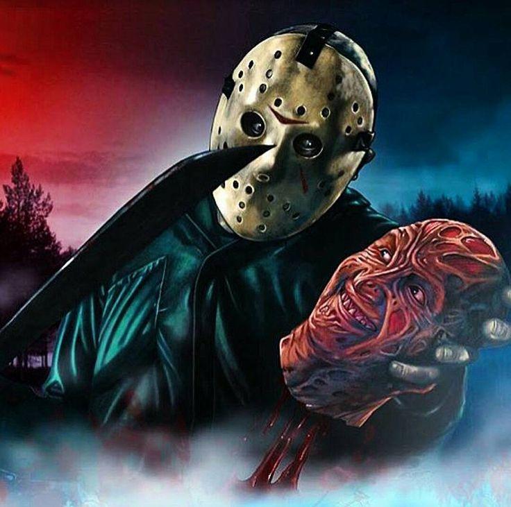 """""""Love this! #horror #movies #freddykrueger #jasonvorhees"""" by @mr.horror13 on Instagram http://ift.tt/1KTc7Eo"""