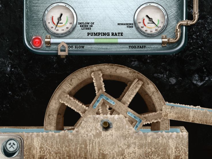 Miners' route - dewatering of sump