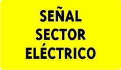 Señal de seguridad relacionada con la electricidad, elementos de balizamiento y rótulo para la identificación de la red. La señalización de seguridad se ajusta a lo descrito en la Recomendación AMYS 1.4-10.