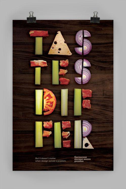 Typographie #3 : La cuisine des caractères, tous à table ! | BlogDuWebdesign