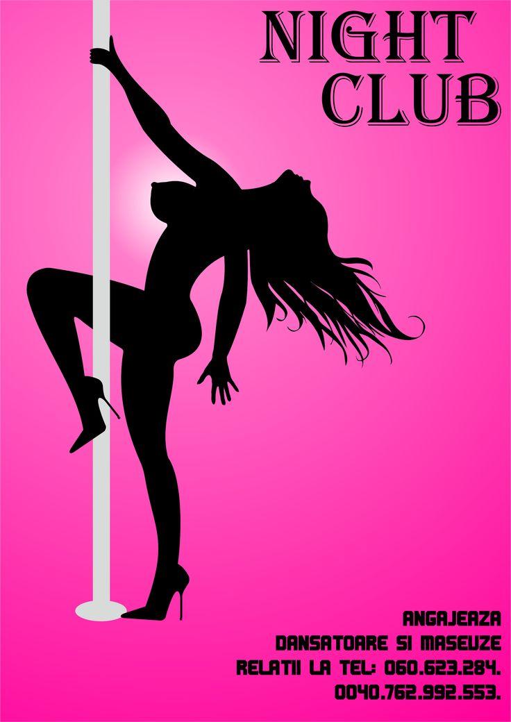 Flyers / Pliante Design - Avatar Night Club - CoMas Advertising
