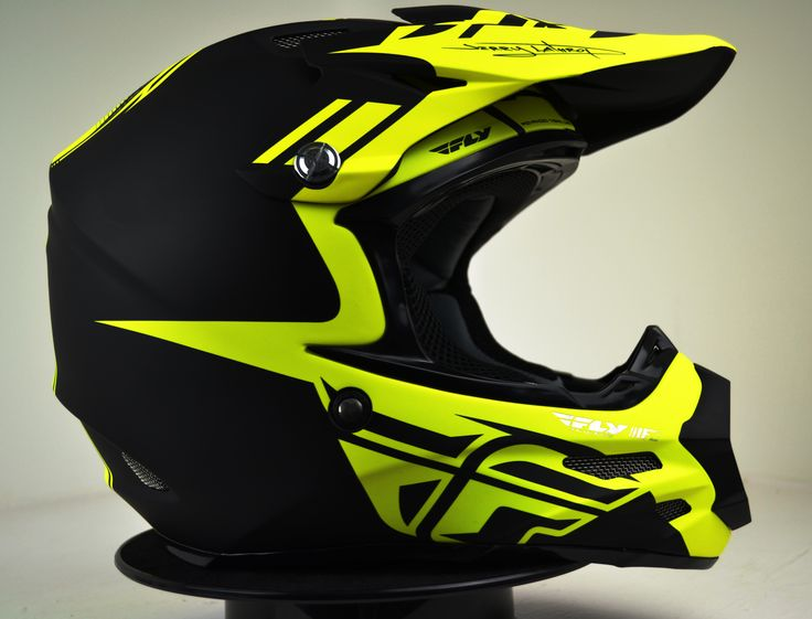 2014 Fly Racing F2 Carbon Dubstep Black Hi Viz Motocross Helmet The F2 Carbon sets itself apart with a unique style and identity all its own. Utilizing state-of-the-art, aircraft grade carbon fiber and Kevlar® composite construction, the F2 Carbon represents lightweight race-inspired helmet technology for the masses. Get yours here; http://www.dirtbikexpress.co.uk/product/2014_fly_racing_f2_carbon_dubstep_helmet_-_black_hi_viz #Moto #Motocross #FlyRacing