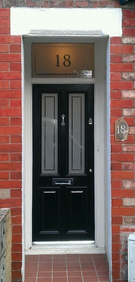 Paul's 'Jet Black' Grand Victorian Etched 'Jet Black' in Altrincham - www.grandvictorian.co.uk