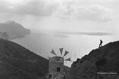 "François Le Diascorn.""A vanishing world in Karpathos Greece"".Functioning windmill  in Olympos village. https://francoislediascorn-us.com/portfolios"