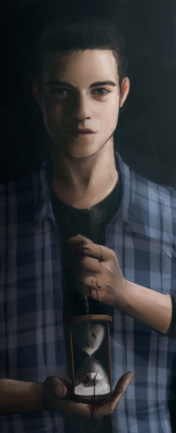 Rami Malek as Josh Washington from Until Dawn. i seriously suck at painting, so keep that in mind, please :'D tumblr facebook